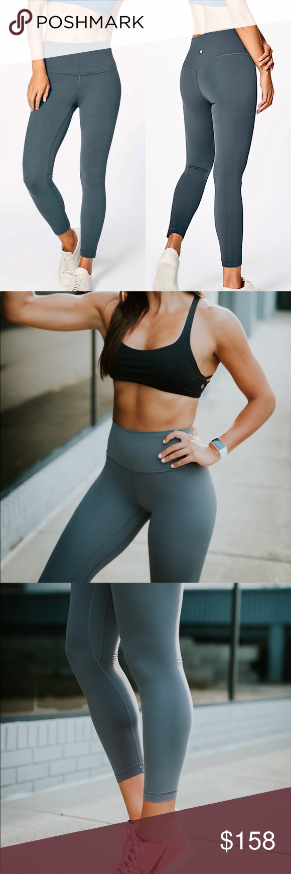 82f8f2b4b8bc48 Lululemon Align Pant Melanite Such a gorgeous color - perfect mix of grey  and green -
