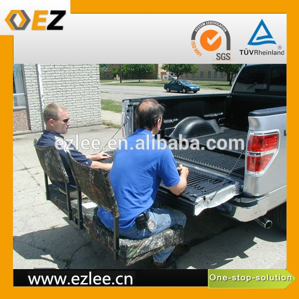Folding Hitch Seat Desk Cargo Carrier Universal Black Steel Rear Roof Rack China Mounted And