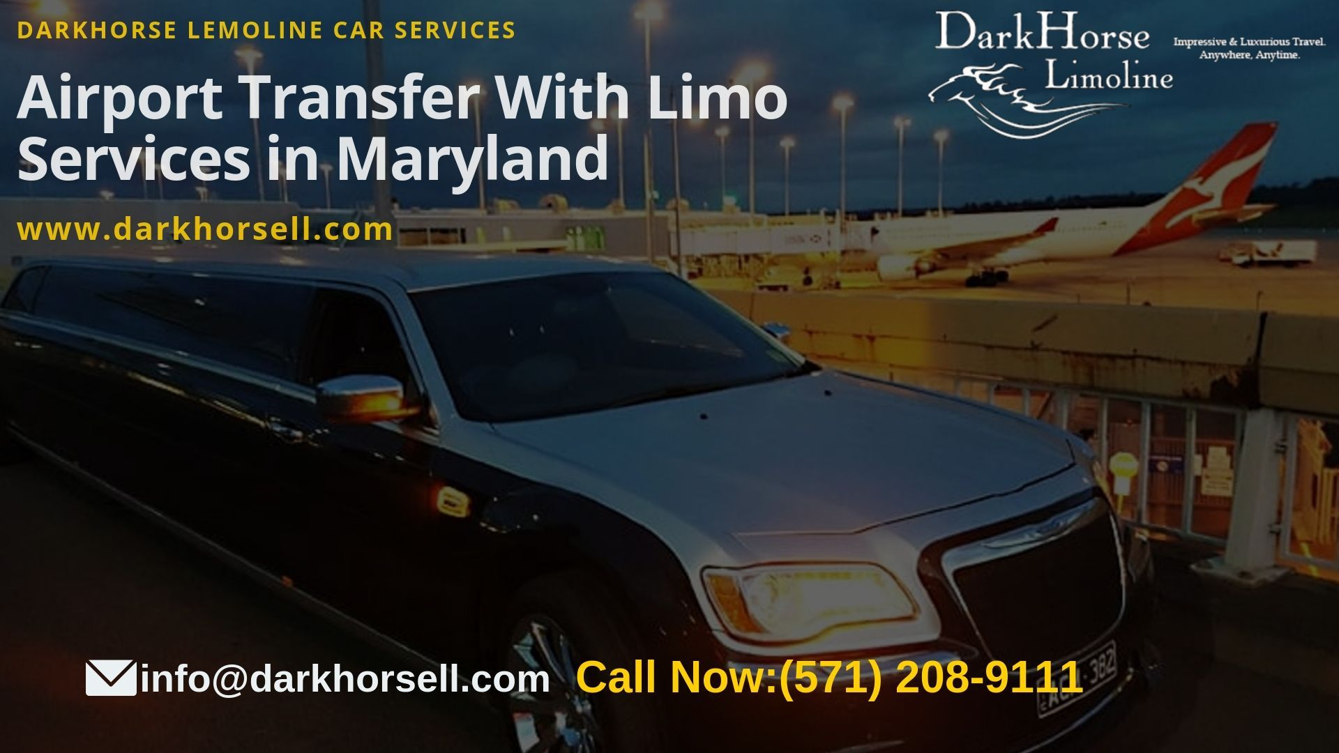 Limo Service In Maryland With Images Airport Limo Service