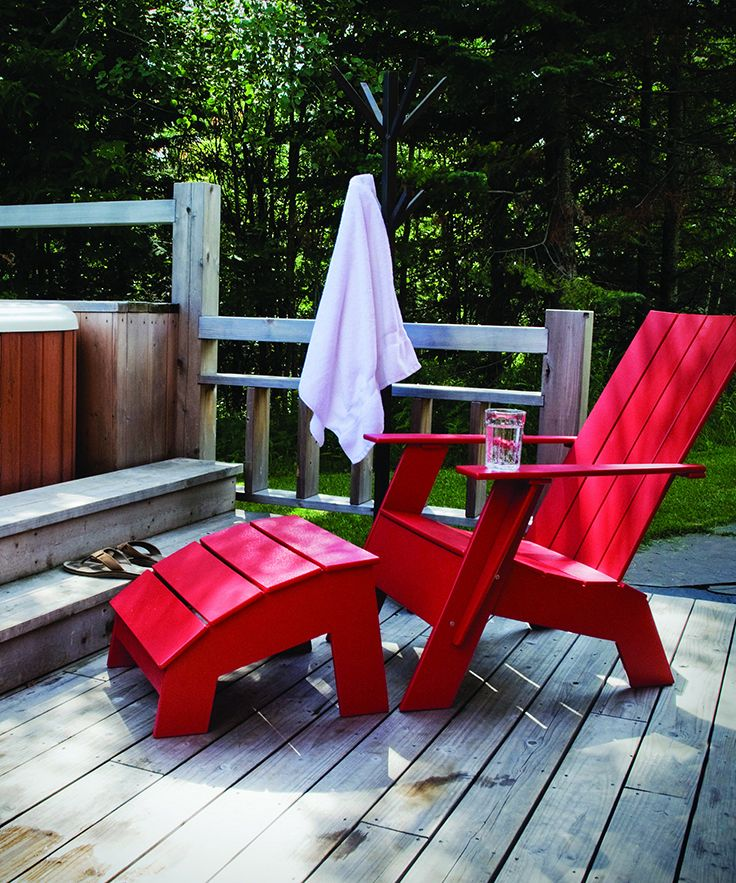 Nothing is more Canadian then a classic Muskoka Chair!