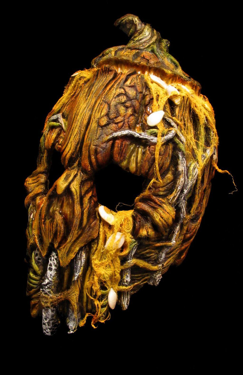 2013 Mushroomhead pumpkin mask by JPattonFX.deviantart.com on @deviantART