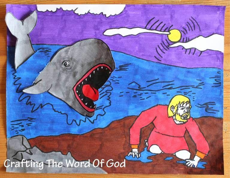Jonás Y El Pez  Jonás sabía lo que Dios le había ordenado, pero él escogió desobedecerlo. Luego vino la disciplina del Señor. Dios disciplina a los que El ama y esta es una lección importante para que todos los niños aprendan.