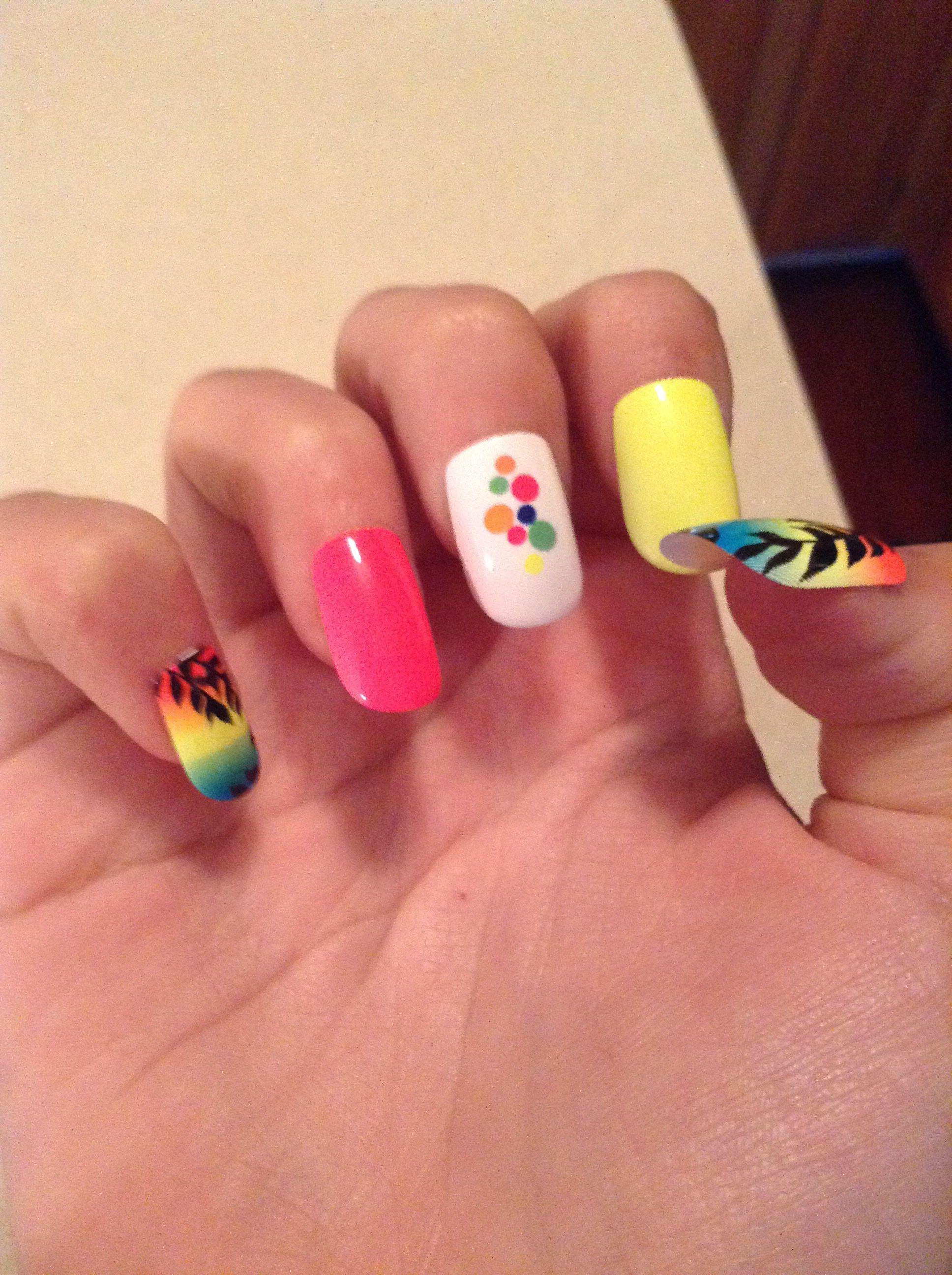Kiss fake nail design | kiss | Pinterest