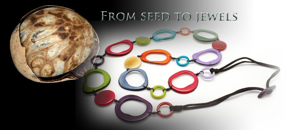 Discover more about the creation of our Tagua jewelry. http://www.encantojewels.com/tagua-seed.html