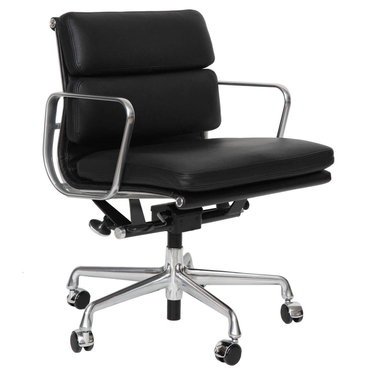 eames management chair soft pad