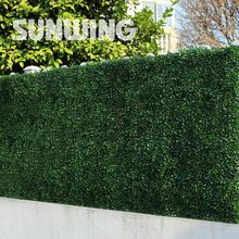 6 unids 50x50 cm artificial decoraci n de jard n de for Valla plastico jardin