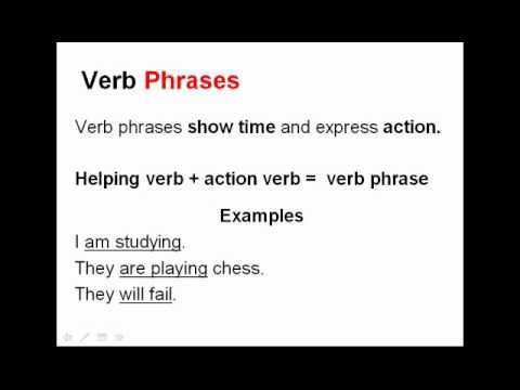 Verb Worksheets and Activities   Phrases Tenses \u0026 Gerunds   Reading Worksheets