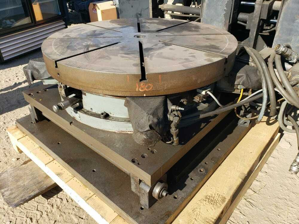 M M Precision Systems Inc 42 Rotary Table As Described As