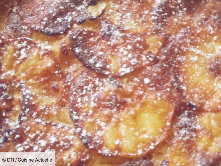Recette Gâteau invisible aux pommes. Ingrédients (5 personnes) : 800 g de pommes (environ 6), 2 ...