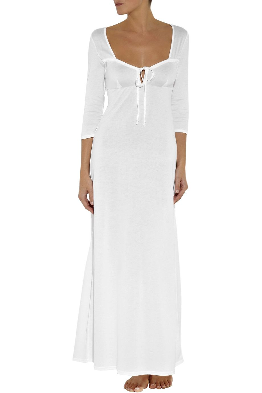 0895048386 Shop on-sale Bodas Cotton-jersey nightdress. Browse other discount designer  Lingerie   more on The Most Fashionable Fashion Outlet