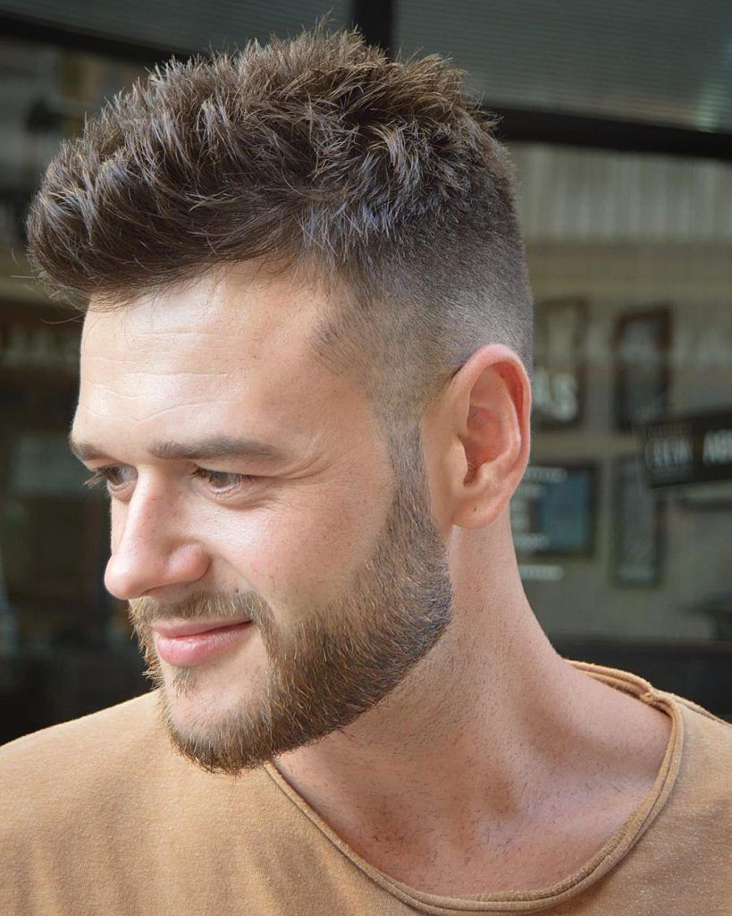 Modern haircut for men 2018  cool short hairstyles  haircuts for men  guide  short