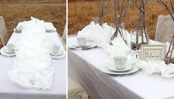 Plastic Tablecloths For Wedding Reception Image Collections Images White Roses