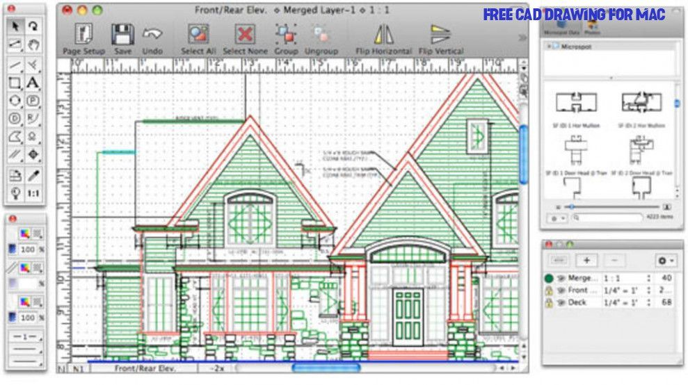 Free Home Design Cad Software For Mac