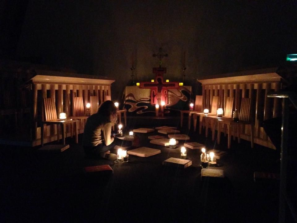 Christchurch Transitional Cathedral Taize service every week. 8pm