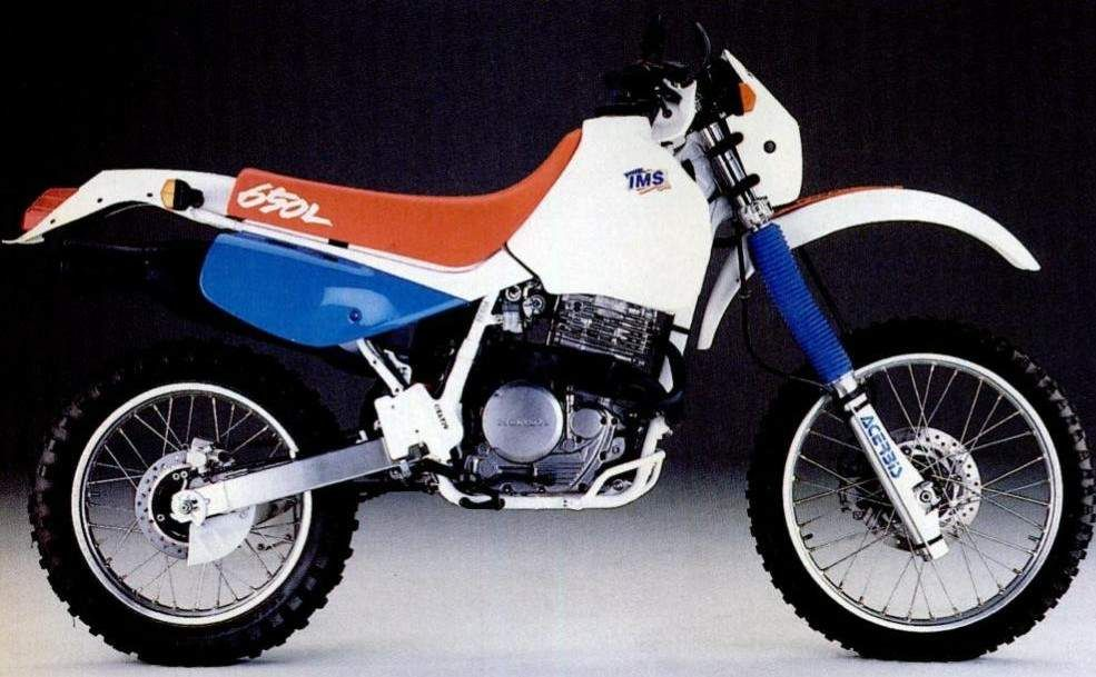 1992 Honda Xr650l Suzuki Dr600 Honda Xl 600 Yamaha Xt 600 Kawasaki Kl600 Or The Like For Other Options For Large Offroad Trips Adventure Bike Honda Bike