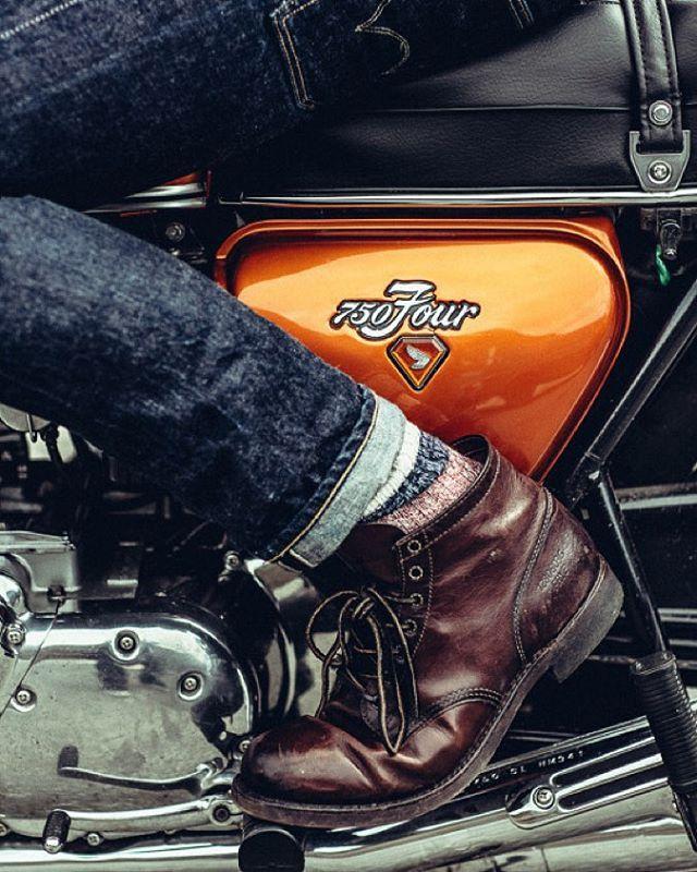 Him His Style The One For Me おしゃれまとめの人気アイデア Pinterest Hudson Teixeira ホンダ Cb750 メンズファッションスタイル カフェレーサー