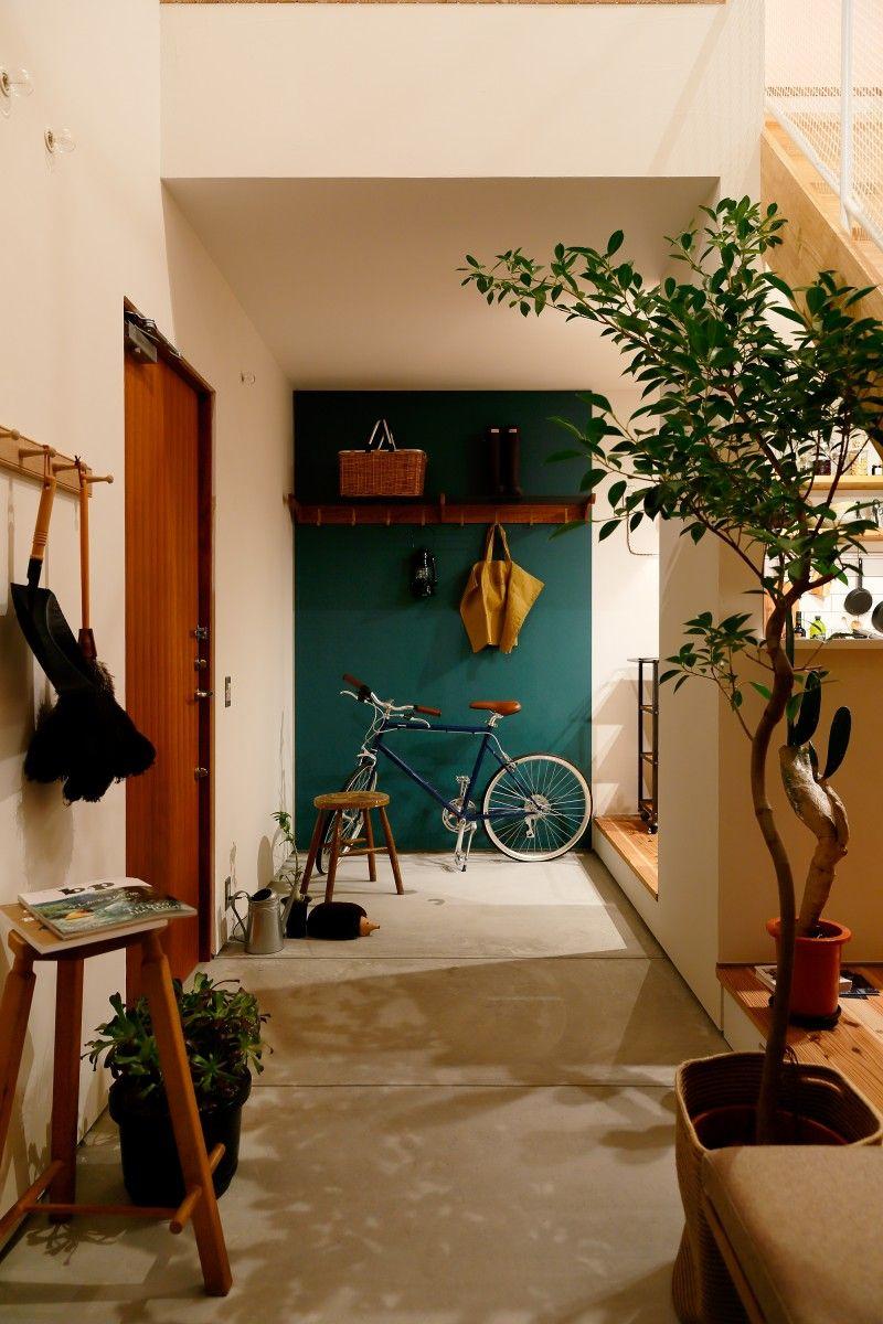テーマは趣味と生活が寄り添い合う家 interiors house and spaces