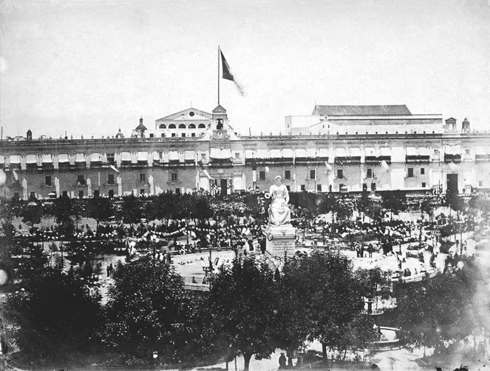 Palacio  juarista...1967