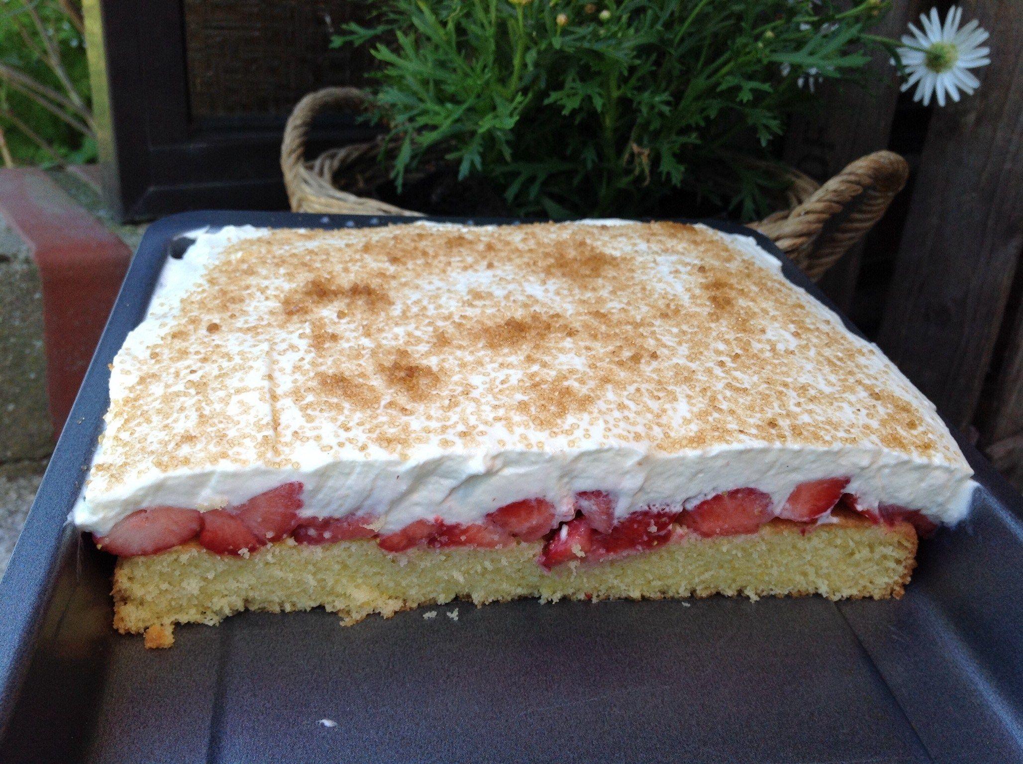 Erdbeer Fanta Kuchen