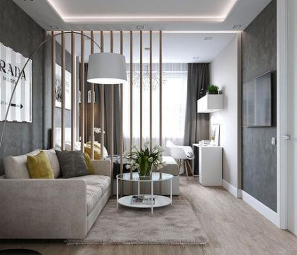 31 Awesome Studio Apartment Ideas For Your Inspiration Small Apartment Interior Apartment Room Condo Interior Design
