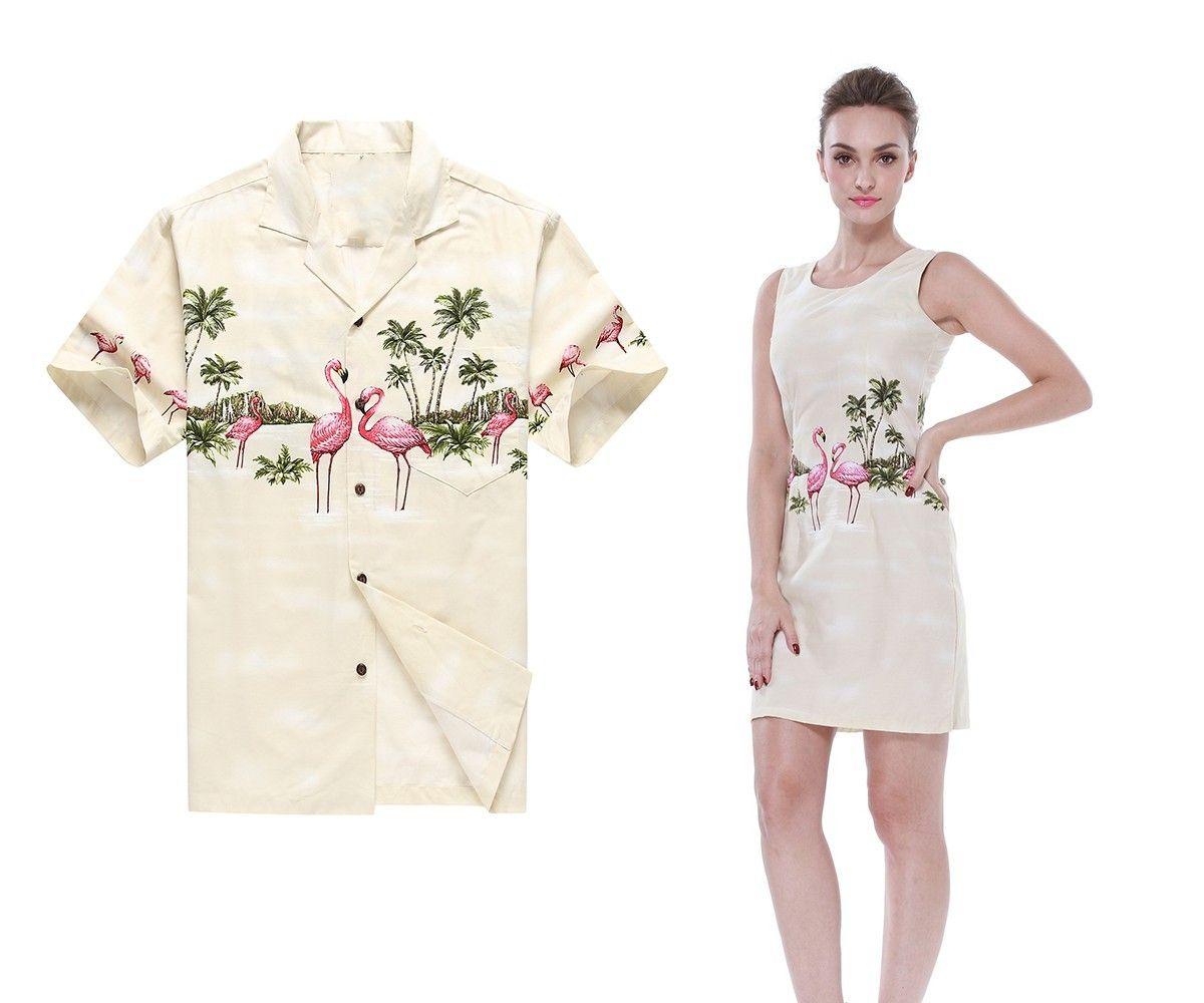 Luau dress white shirts