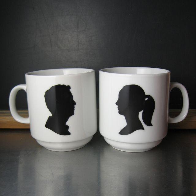 Amazing Custom Silhouette Mugs By BROOKLYNrehab.