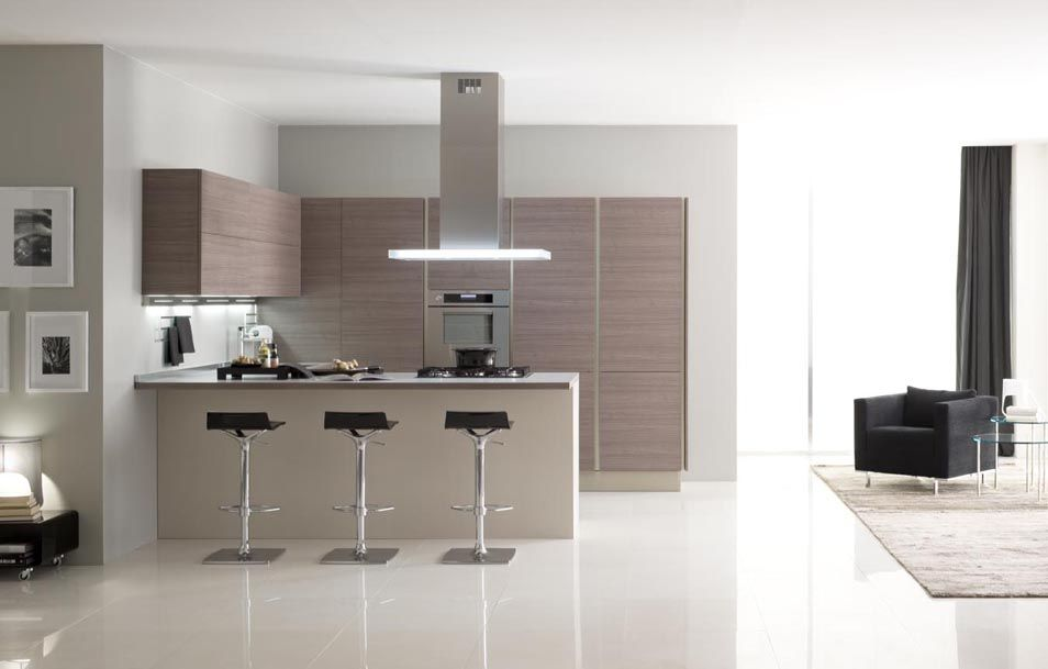 Μοντερνα επιπλα κουζινας VENETA CUCINE μοντελο OYSTER DECORATIVO ...