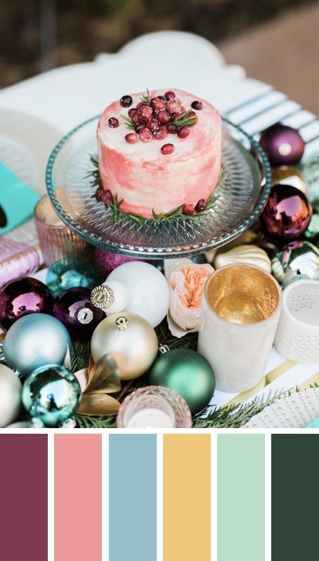 5 MODERN CHRISTMAS TABLE SETTING COLOR PALETTE IDEAS TO COPY THESE...