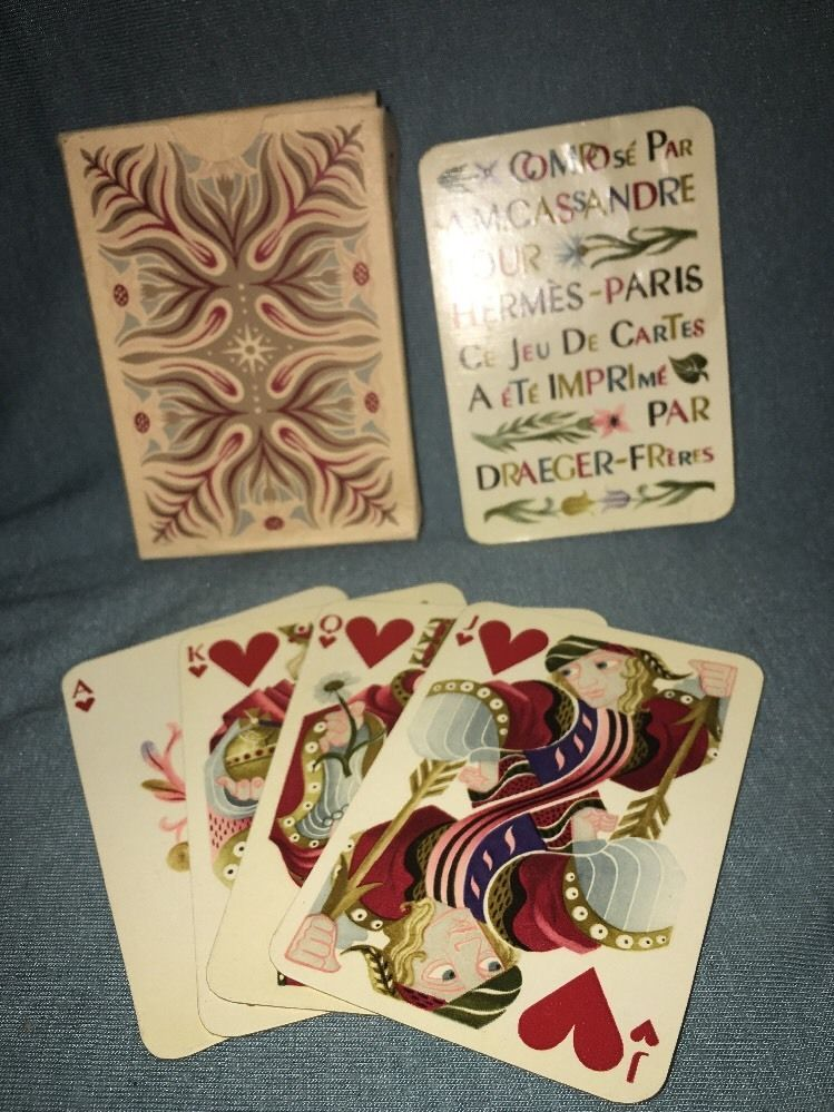 Cassandre For Hermes 1948 Playing Cards | eBay | Cartomancy