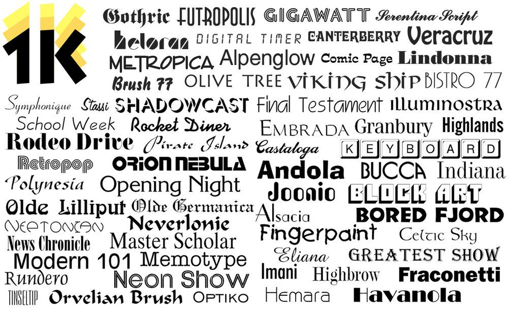 Download New Webfonts added to 1000 OpenType Fonts | Commercial use ...