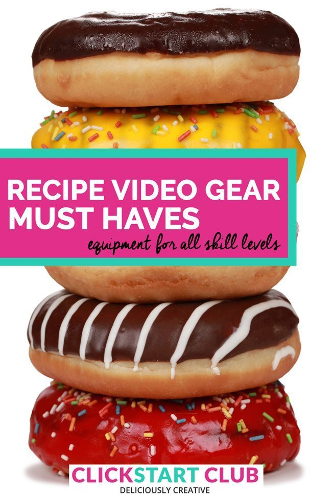 Recipe video gear must haves food videos are all over social recipe video gear must haves food videos are all over social media and a great forumfinder Images