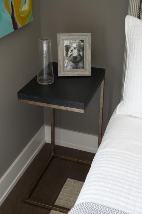 Smart Bedside Table: Guest Bedroom Pictures From HGTV Smart Home 2015