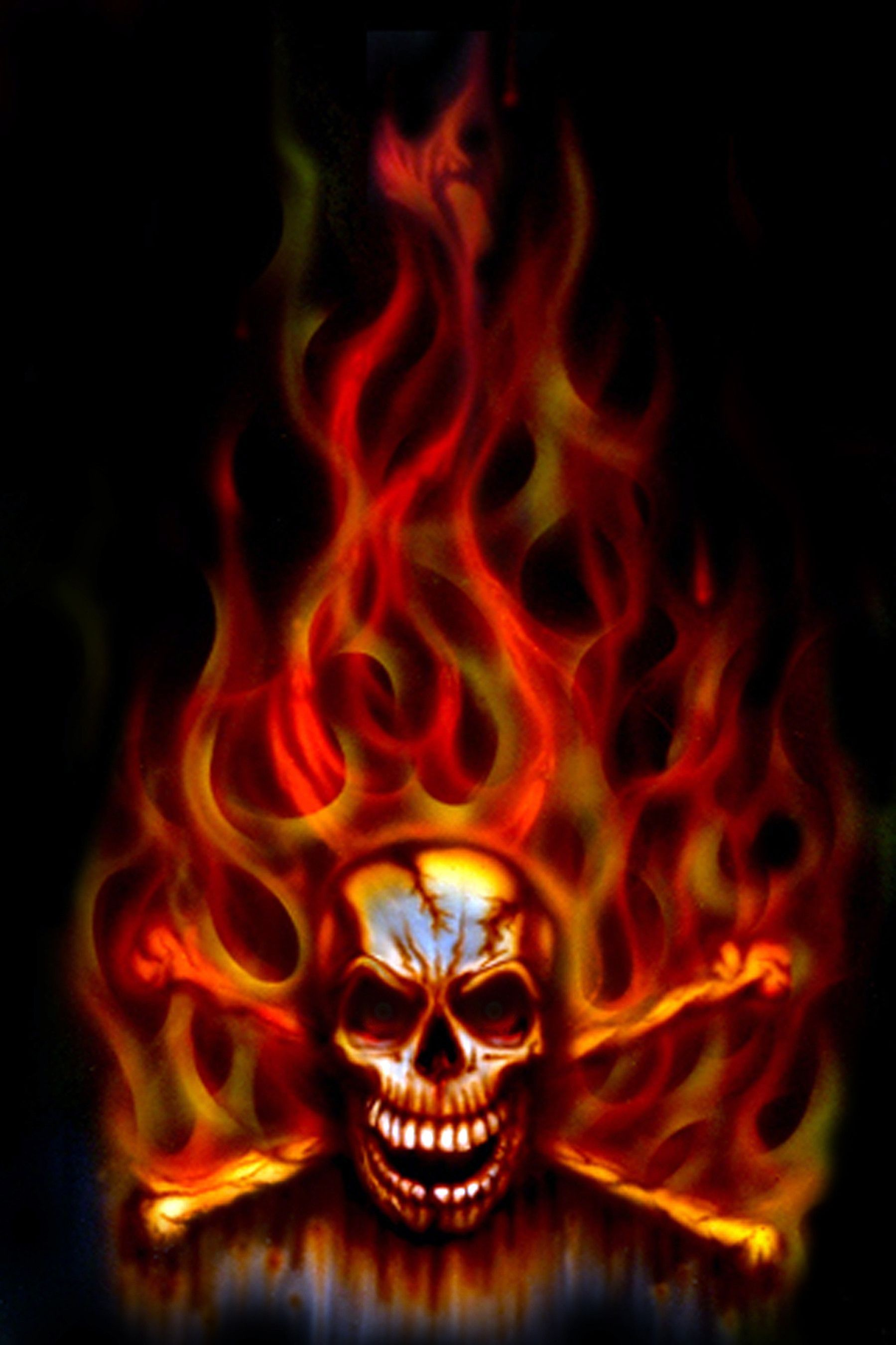 огненные картинки скелет примеру, они способны