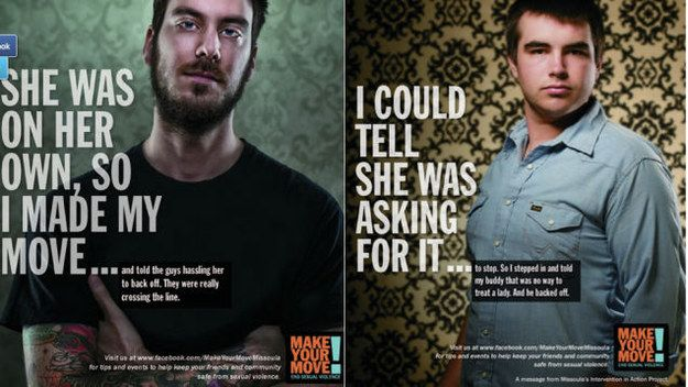 We Asked An Expert What Was Wrong With These Anti-Rape Posters