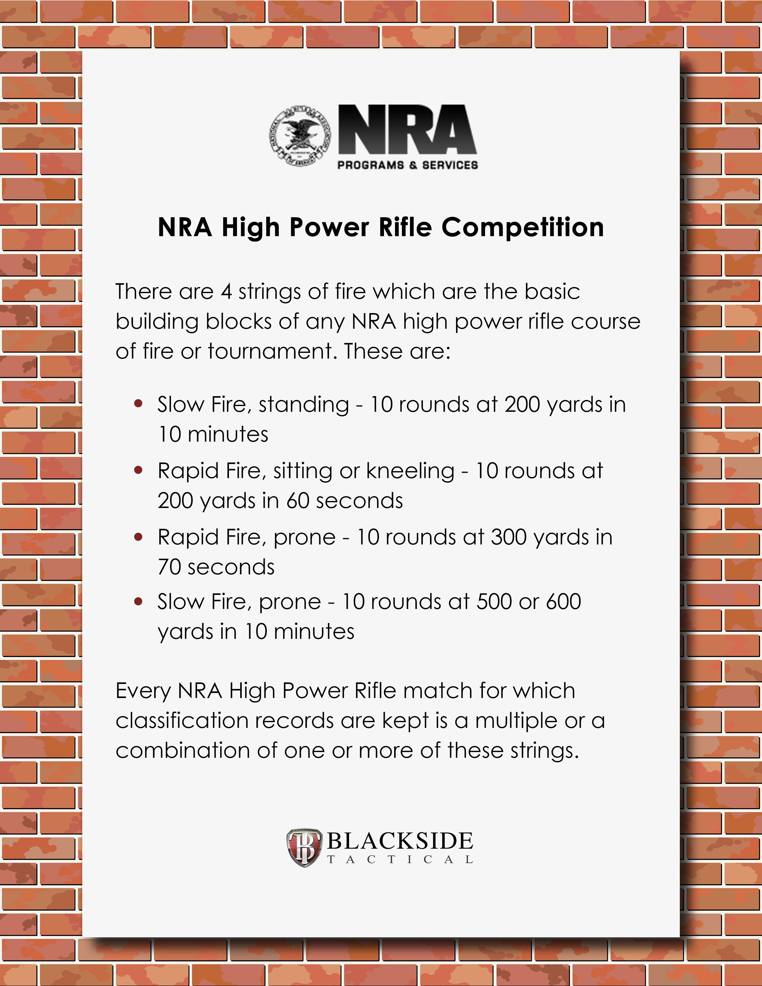 Nra High Power Rifle Competition  HttpCompetitionsNraOrg