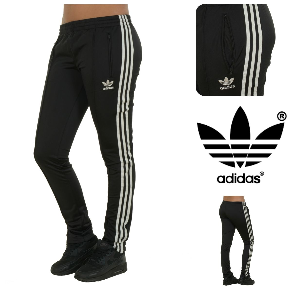 Work that body ... adidas Originals Slim Supergltp Sweat Pants. ➡www.