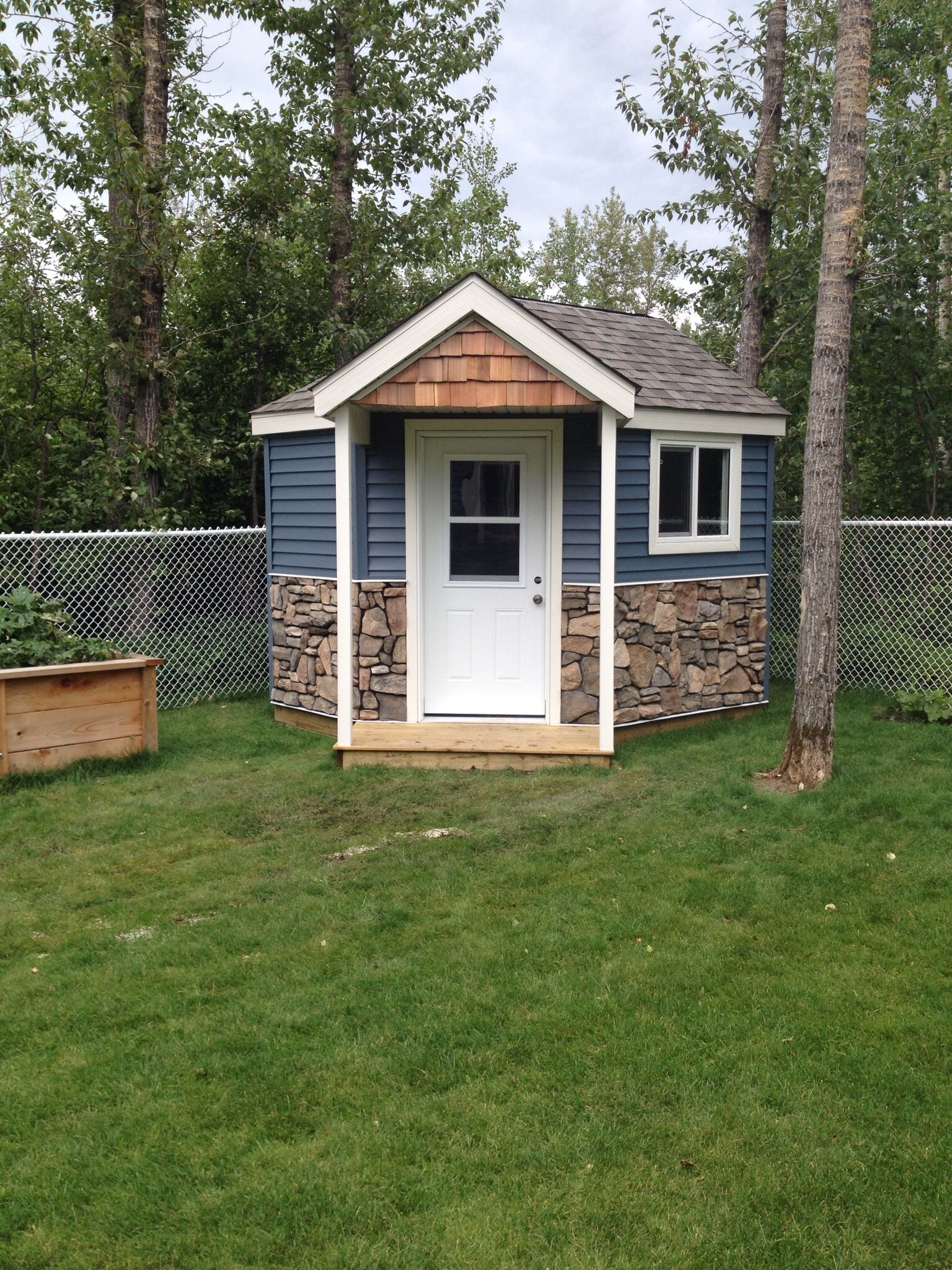 Corner shed … Garden Ideas Pinterest