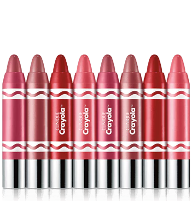 Here's Clinique's Awesome, OutsidetheBox Crayola Collab