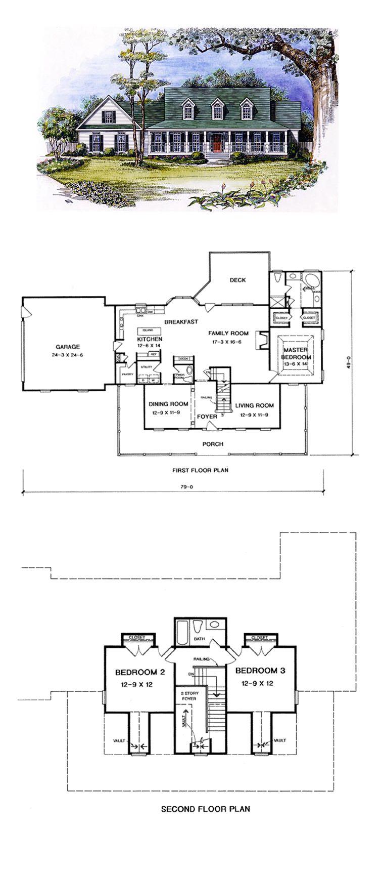 Cape Cod Style House Plan 58207 With 3 Bed 3 Bath 2 Car Garage Cape Cod House Plans Building Plans House Cape Cod House