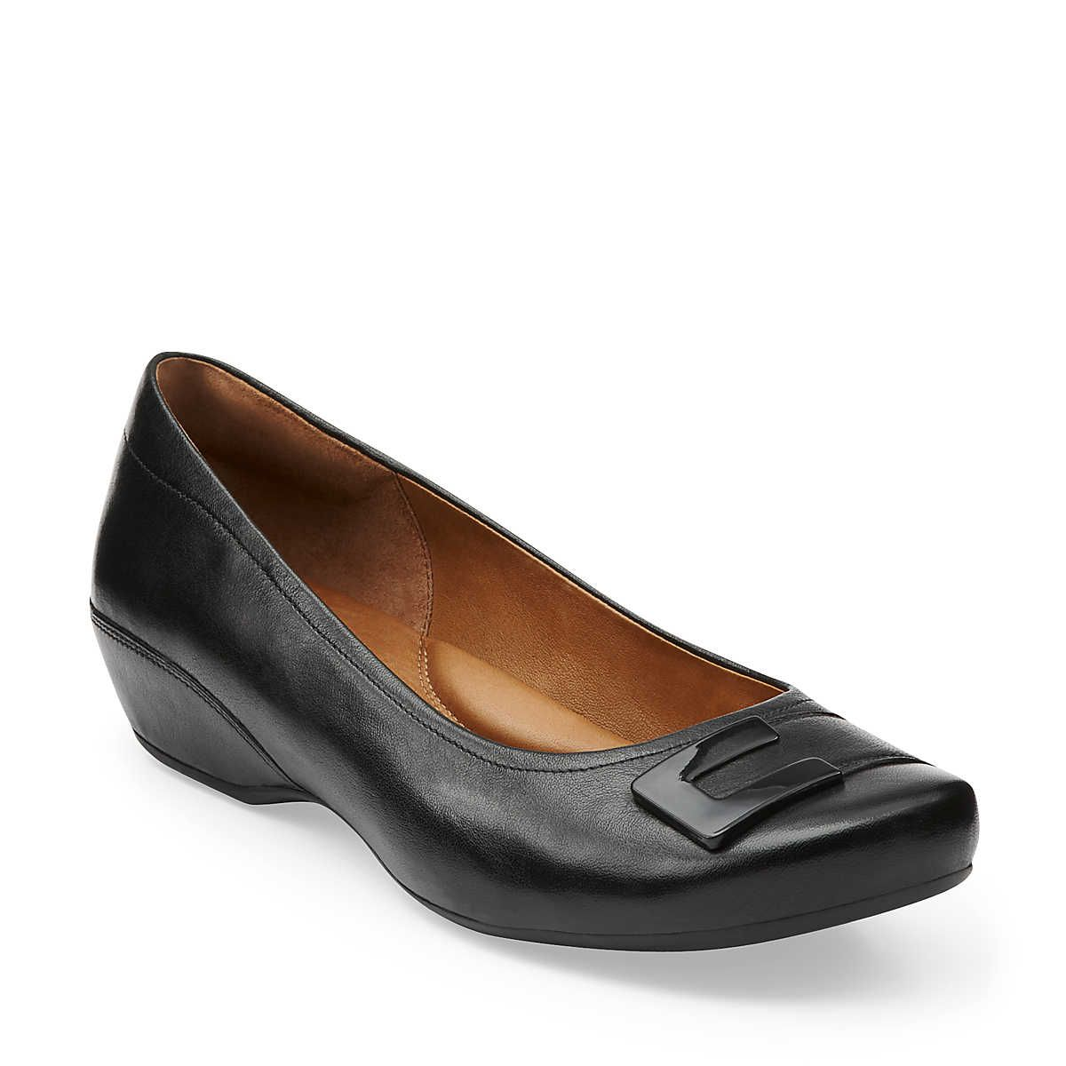 Concert Choir | Black leather shoes