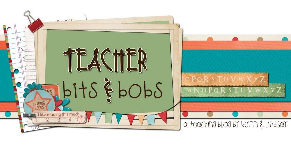 From classroom crafts and teaching tips to reading lessons, our Best Blog of the Week features two best friends and teachers that have a knack for making learning fun...it's Teacher Bits & Bobs!