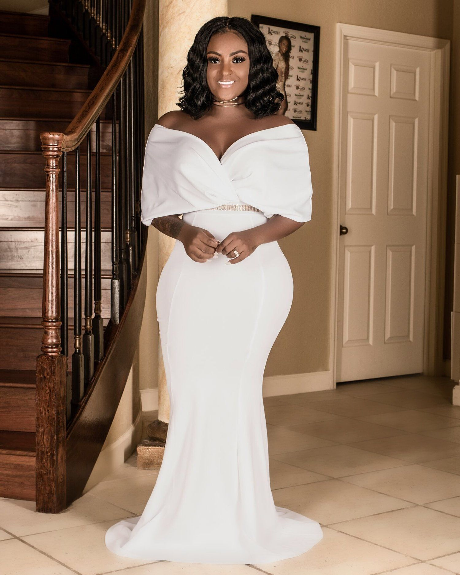 Glam Maxi Dress in 2020 Maxi dress wedding, Courthouse