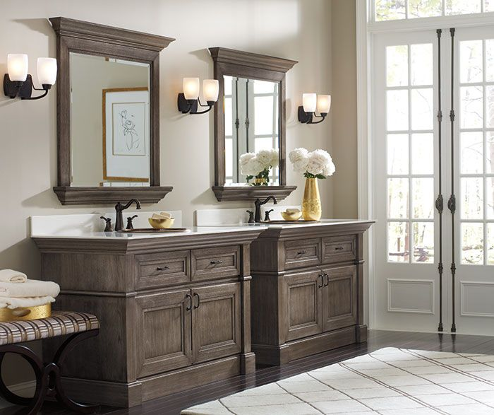 Pin By Kitchen Cabinet Kings On Bathroom Remodel Gray Stained