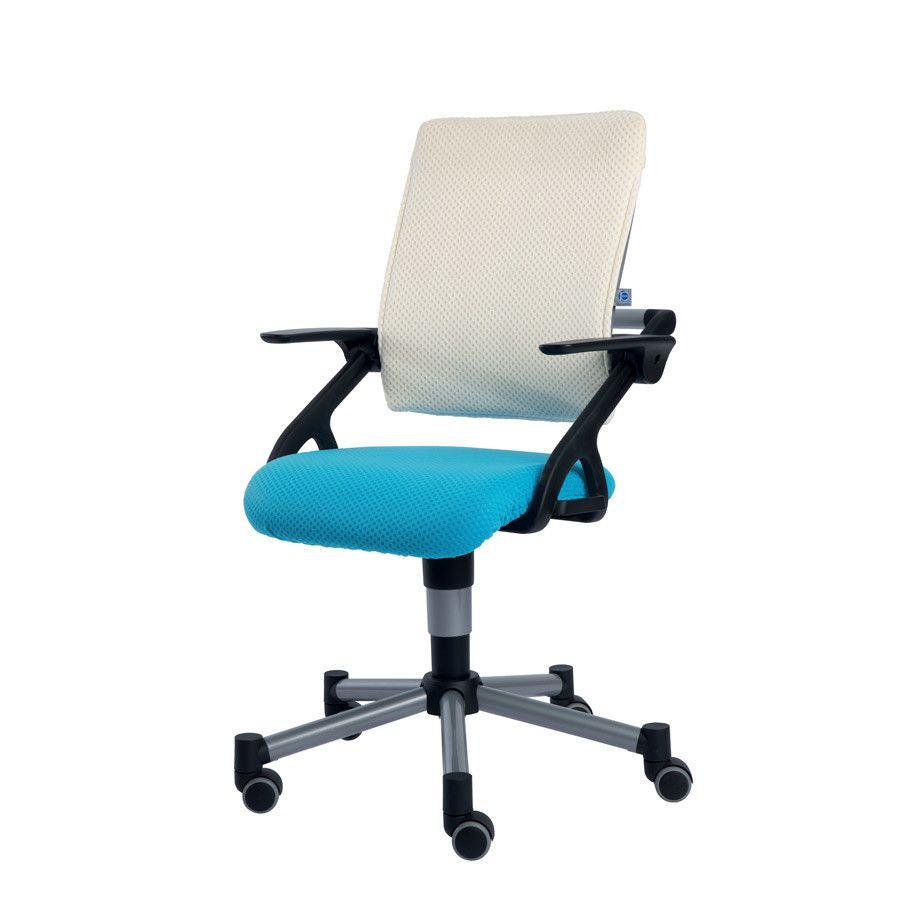 Drehstuhl Tio In Azurblau Weiss Stuhle Drehstuhl Und Sitzen