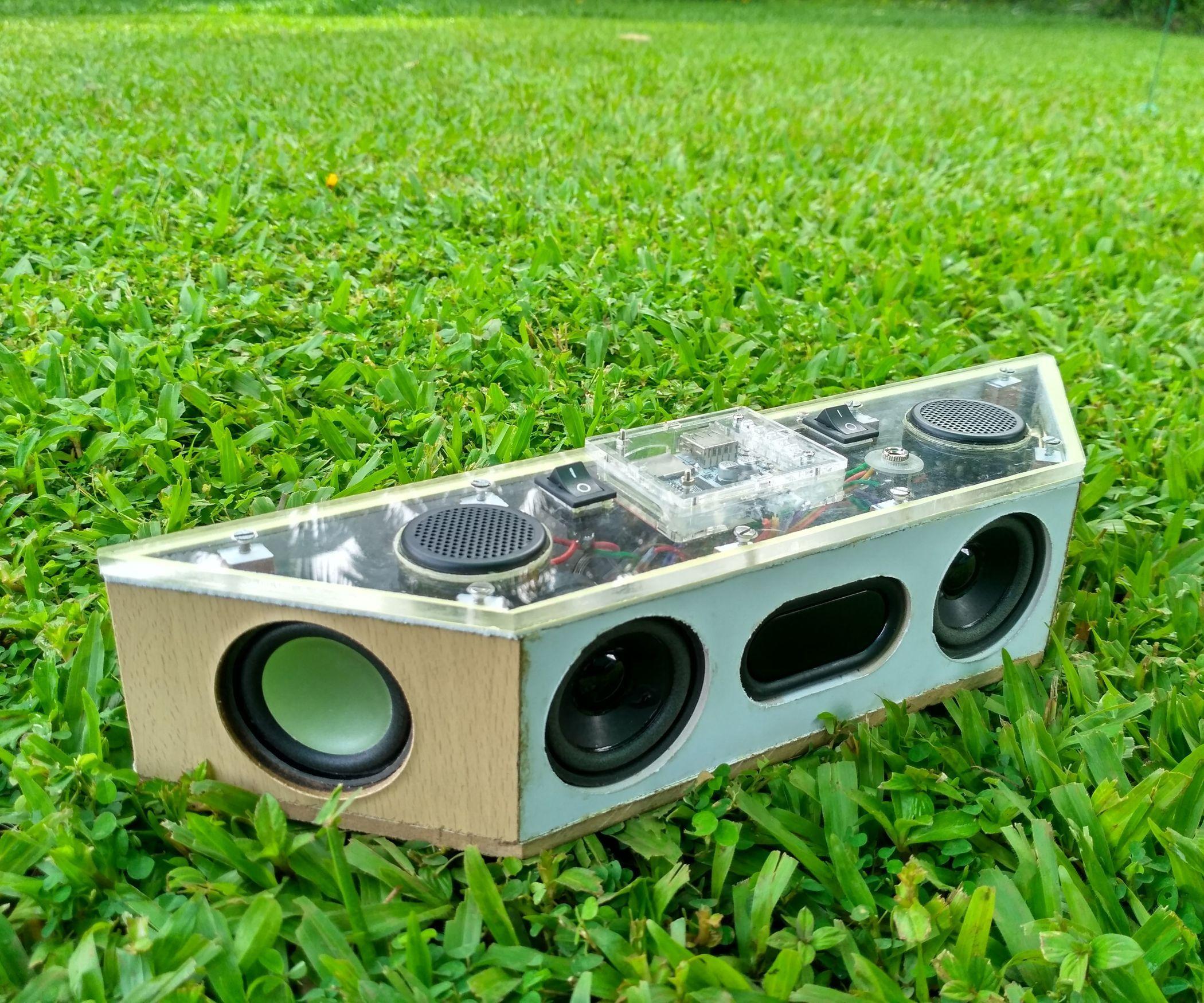 Circuito Bluetooth Casero : Hand built full range portable bluetooth speaker pinterest