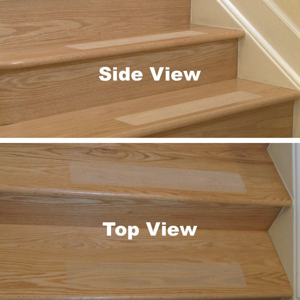 Non Slip Stair Treads With Superior Grip Black Brown Grey And