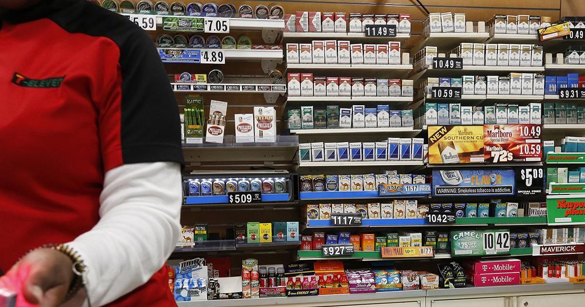 Salem cigarettes price Tesco