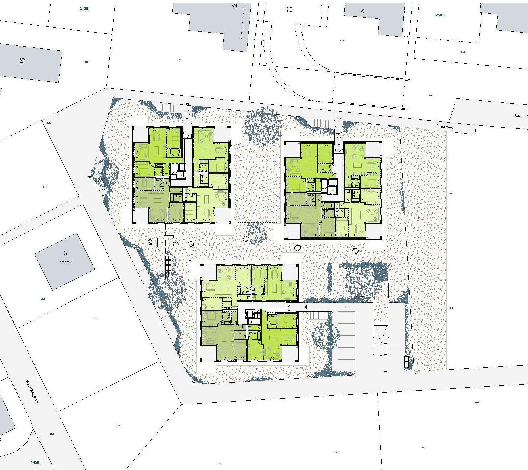 Apart architektur biel architekten architecture - Architektur plan ...