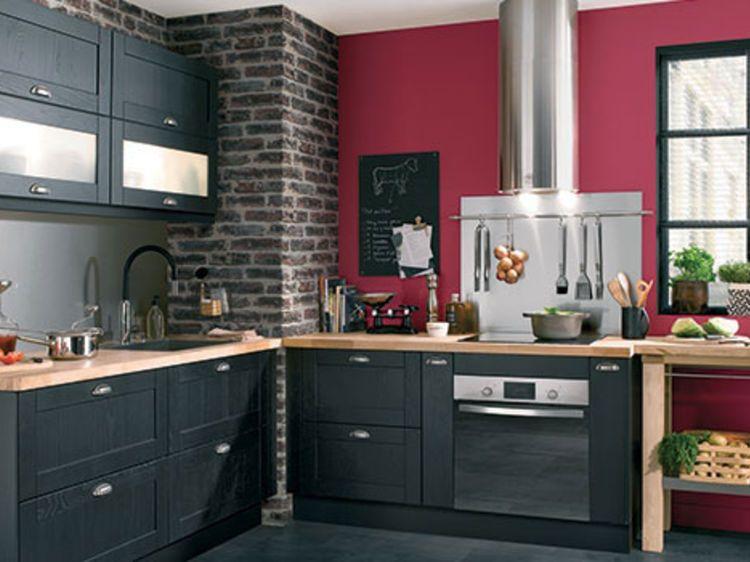 Le top des cuisines tendance cuisine moderne cuisine - Meuble de cuisine conforama ...