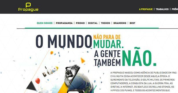 Propague website